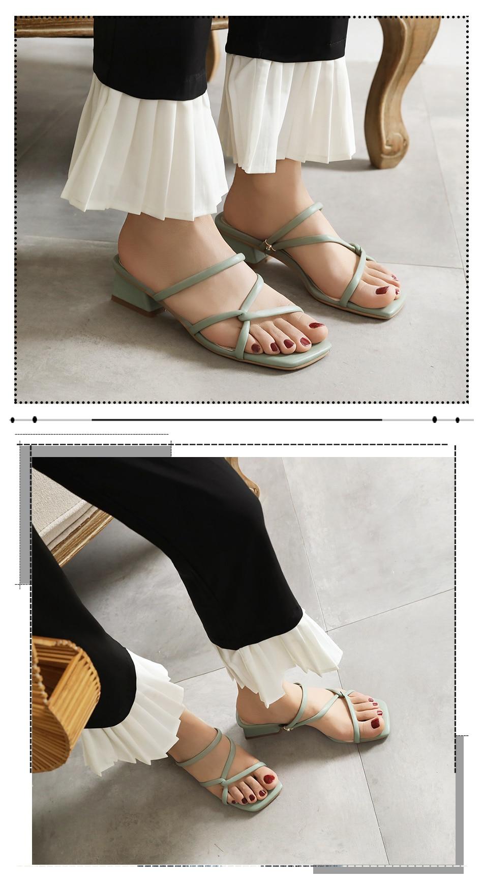 sandals heels women