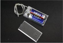 цена на 600pcs/lot 2 AA Battery 3V Holder Box Case With Switch 2 AA 2A Batteries Storage Holder Box Case With Switch Lead Transparent