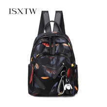 ISXTW Fashion Oxford Women Anti-theft Backpack High Quality School Bag For Women Travel Bags teenagers student backpack /C35