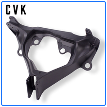 CVK Headlight Bracket Motorcycle Upper Stay Fairing For SUZUKI GSXR600 GSXR750 GSXR 600 750 GSX-R 08 09 10 2008 2009 2010 Parts motorcycle fairings for suzuki gsxr gsx r 600 750 gsxr600 gsxr750 2008 2009 2010 k8 abs plastic injection fairing bodywok kit sw