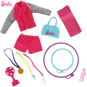 Image 4 - Original Barbie Gymnastics Coach Doll Barbie Girl Toys Gift Box Set Best Gift For Birthday Christmas Juguetes DKJ21