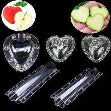 Пластиковая форма для формирования фруктов в форме сердца и