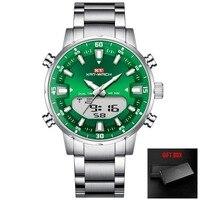 silver green-box