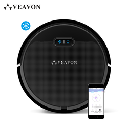 VEAVON V2 Robot Vacuum Cleaner By Wet and Dry, 1300Pa Power Suction Vacuum Machine, App Controls, Self-Charging