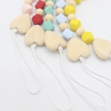 Toy Pacifier-Clip Baby Silicone Shower Gift Chewbeads Birthday