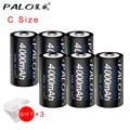 Оригинальные аккумуляторные батареи PALO C  6 шт.  1 2 В  Ni-MH  4000 мАч