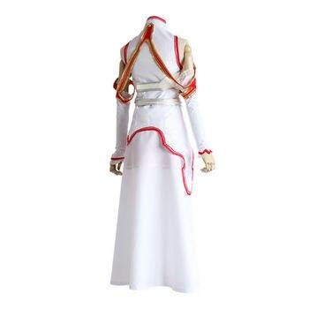 Anime Sword Art Online SAO Asuna Yuuki Dress Cosplay Costume Armor Full Set