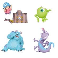 Disney canavarlar Inc. James P. Sullivan Randall Boggs Mike aksiyon figürü oyuncakları araba dekorasyon Anime koleksiyonu oyuncak hediye çocuklar için