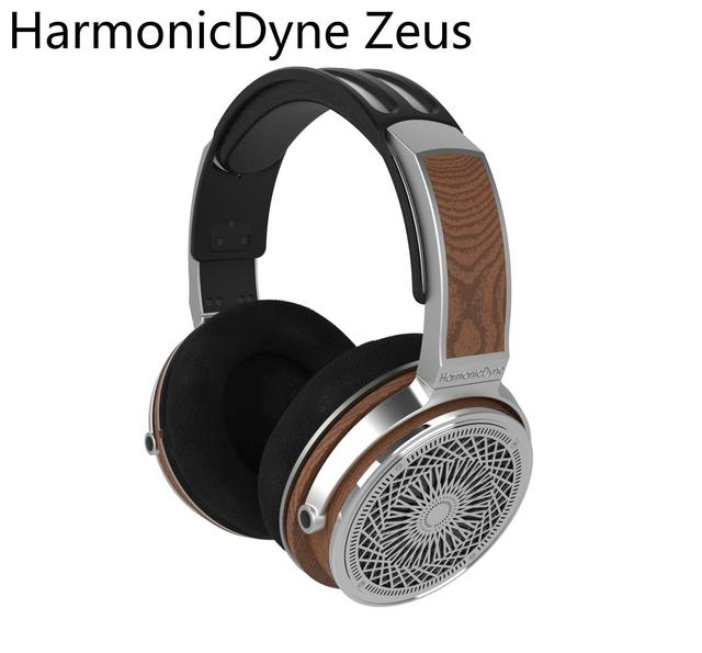 HarmonicDyne Zeus Over Headphone Headset Acoustic 50mm Dynamic Hifi Music Monitor Audiophile Musician Stereo MMCX Headset
