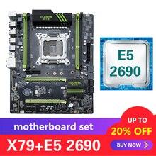 Kllisre X79 комплект материнской платы с Xeon E5 2690 LGA 2011 поддержка DDR3 память ECC Reg ATX USB3.0 SATA3 PCI-E NVME M.2 SSD