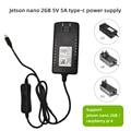 Новый Jetson Nano 2gb type-c 5V 5A блок питания с переключателем ЕС/США/Великобритания адаптер совместим с Raspberry Pi 4