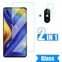 Schutz Glas Für Xiaomi Mi Max 2 3 Mix 2 2S 3 Gehärtetem Glas Für Xiaomi Poco M2 Pro m3 C3 Kamera Objektiv Glas Sicherheit Film Volle