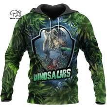 Plstar cosmos 3dprint Охотник динозавр животное унисекс harajuku