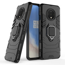 With stand Ring Hybrid case For Oneplus 7T Hard PC Armor shockproof protective back cover for one plus 7t pro oneplus7t shell