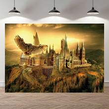 NeoBack Vinyl zachód słońca magia szkoła dzieci dzieci fotografia tła urodziny Studio tło do zdjęć Banner Photocall