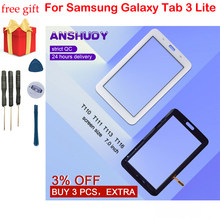สำหรับ Samsung Galaxy Tab 3 Lite 7.0 SM-T110 T111 T113 T116 Touch Screen Digitizer เปลี่ยนแผง(China)