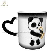 Panda Mug Color Changing Cheap Mug Cute Ceramic Chat Cups