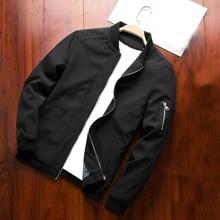 Running Jacket Sports-Coat Fitness Men Flight Windbreaker Stand-Collar Comfortable Men's