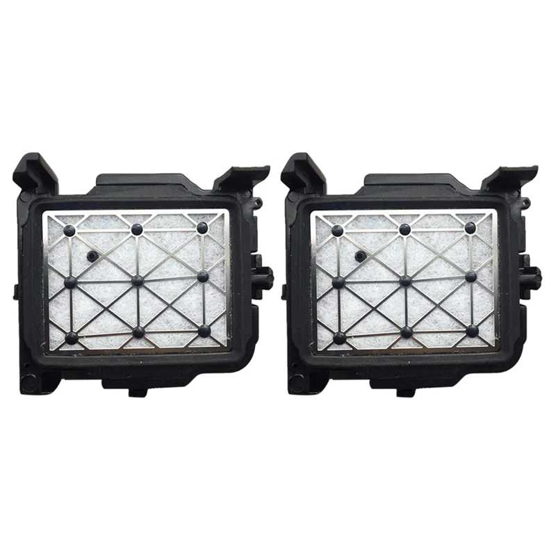 2Pcs Topi Atas untuk Jv33 Jv5 Cjv30 Mutoh Valuejet Galaxy Roland Vs640 Printer Pelarut Dx7 Dx5 Printhead Capping Station