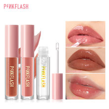 Pinkflash палитра теней для век блеска и Шиммер уплотняет Увлажняющий