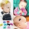 10Pcs Kids Baby Girl's Ribbon Hair Bow Mini Latch Clips Hair Clip Hairpin  for Children Girls Kids Hair Accessories 3