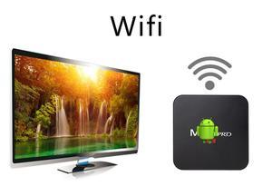Image 5 - MX Pro 4K TV kutusu Amlogic S905W dört çekirdekli 1G 8G veya 2G 16G Android 7.1 Ultra 4K akışı IPTV 4K kutusu akıllı TV medya oynatıcı oyun