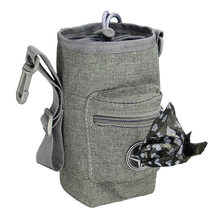 Pet food treat snack bag walk with pet toys stool bag pet free training waist pack outdoor dog pet supplies