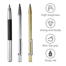 Glass Cutter Construction Tools Scriber Pen Marking Engraving Tools Glass Ceramic Marker for Glass  Metal Wood Marking Tools