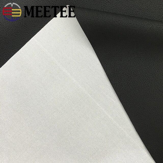 Meetee-tissu en cuir PU imperméable | Cuir synthétique, épais, 50x137cm 0.6mm, pour siège de voiture, doux, antidérapant, artisanal