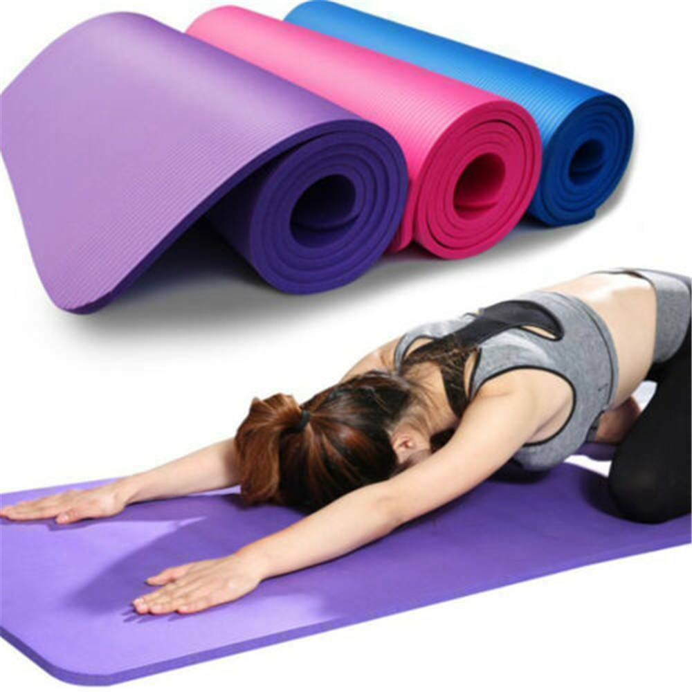 2020 Quality 10mm Nbr Yoga Mat With Free Carry Rope 183 61cm Non Slip Thick Pad Fitness Pilates Mat For Outdoor Gym Exercise Fitness From Sports Man888 20 18 Dhgate Com