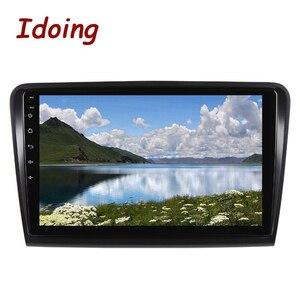 Image 4 - Iding lecteur multimédia pour skodasupb 10.2 2008, avec Navigation GPS, 4 go + 64 go, lecteur multimédia, Android 10, 2014 pouces, 2.5D, berline, sans dvd, 2din