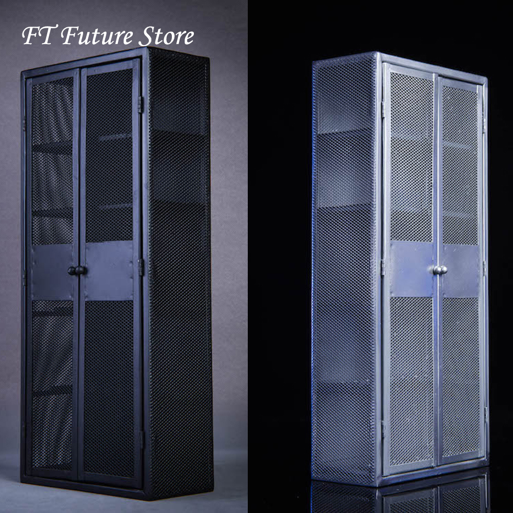 """1//6 Scale Metal Safe Model for 12/"""" Action Figure Scene Accessories"""