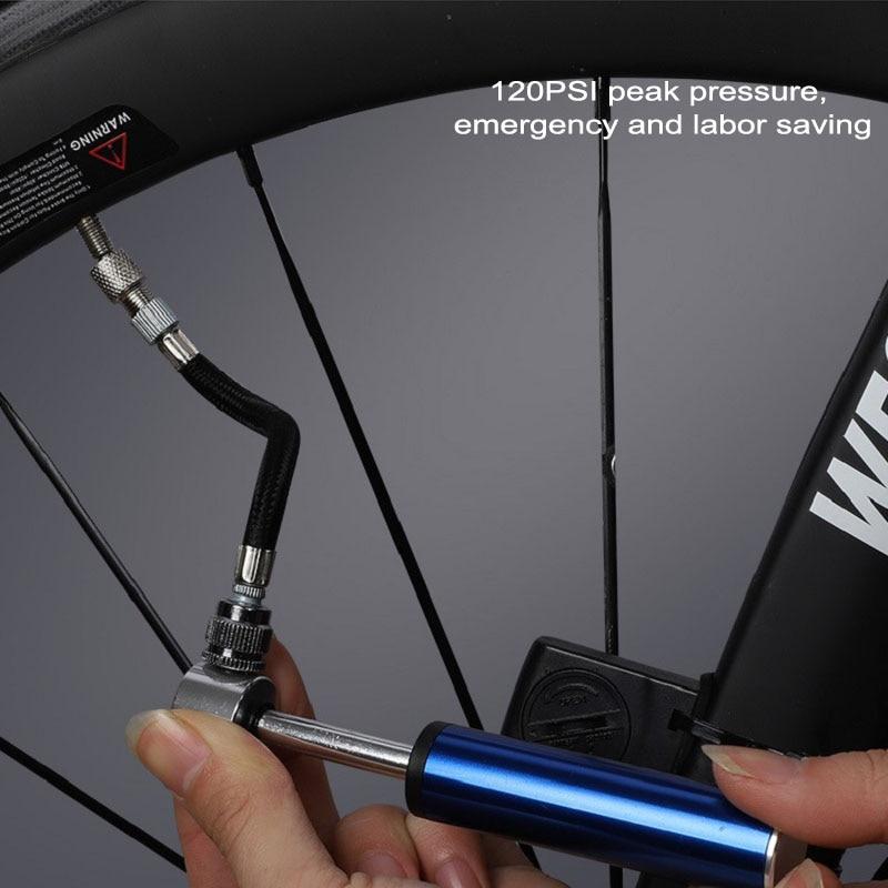 Купить велосипедный насос портативный мини для шоссейных велосипедов