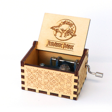 Music-Box Decorative Birthday-Gift Y-Wooden Carved New-Year