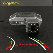 HD Wireless Car CCD Rear Camera Fisheye 4 8 12 led dynamic Night Vision bracket For Mazda 6 2009 2010 2011 2012 2013 2014 RX-8