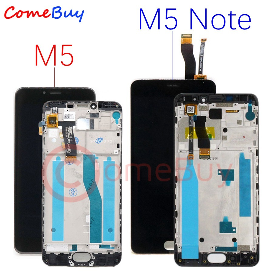 For Meizu M5 Note LCD Display Touch Screen Digitizer M621H M621Q M621M For Meizu M5 LCD M611D M611Y M611A M611H Screen Replace