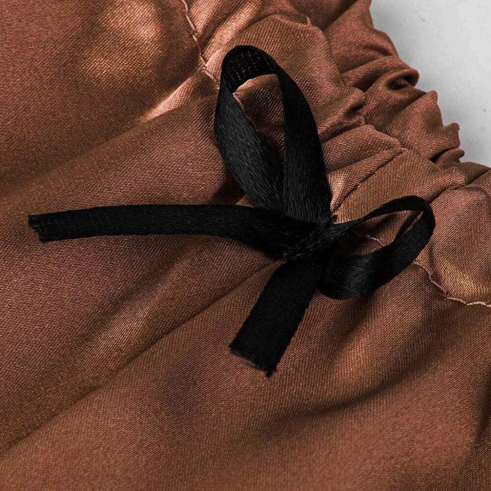 H73cb3cd84ad847f48685f97c51365190k Camisola de encaje de satén con cuello en V para mujer, conjunto de pantalones cortos con lazo, lencería pijama, lencería sexy para tienda erótica #2N13