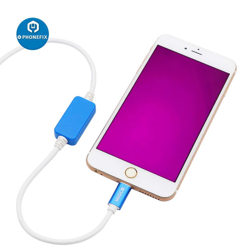 MAGICO OEM DCSD Cho iPhone Cổng Nối Tiếp Kỹ Thuật Cáp DCSD Cáp USB Cho iPhone 7/7P/8/8P/X KỸ THUẬT & Khai Thác