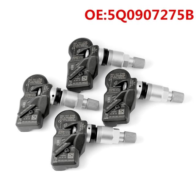 Tire Pressure Sensors For Audi A3 A7 A6 Volkswagen VW Porsche Bentley 5Q0907275B 5Q0907 Tire Pressure Monitoring System Car TPMS