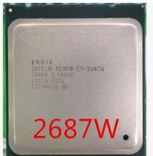 Процессор intel Xeon E5 2687 Вт 3,10 ГГц 8-ядерный LGA 2011 серверный процессор E5-2687W 2687 Вт