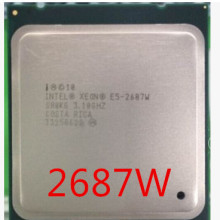 Intel Xeon E5 2687W 3,10 GHz 8-Core LGA 2011 server prozessor CPU E5-2687W 2687W