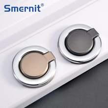 Скрытые дверные ручки серебряные для кухонного шкафа и мебели