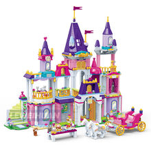 NEW Princess Series Castle Party Model Building Blocks Sets Bricks Toys Classic Kids Girl Christmas Gifts Legoings Friends