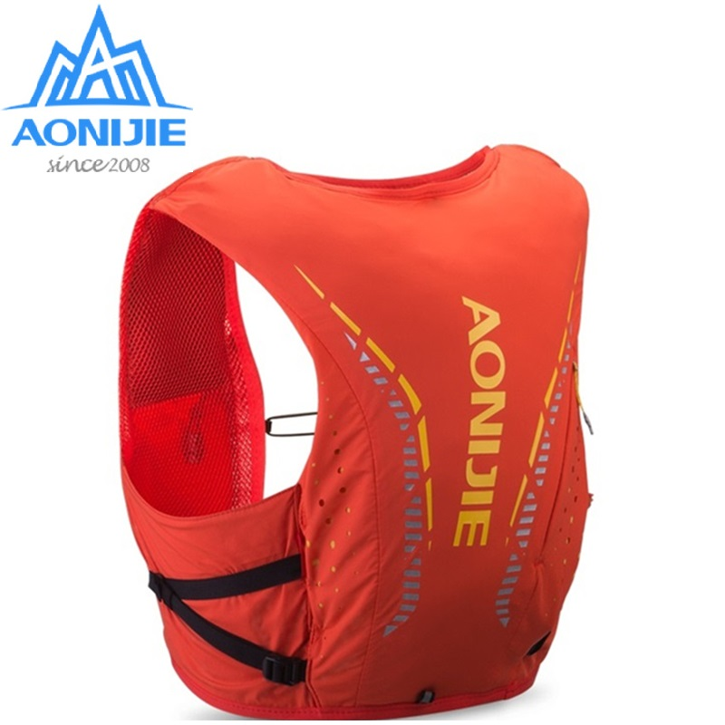 AONIJIE C942 Ultra Trail Running Vest Backpack 10L Running Hydration Vest Pack Marathon Running Rucksack Bag