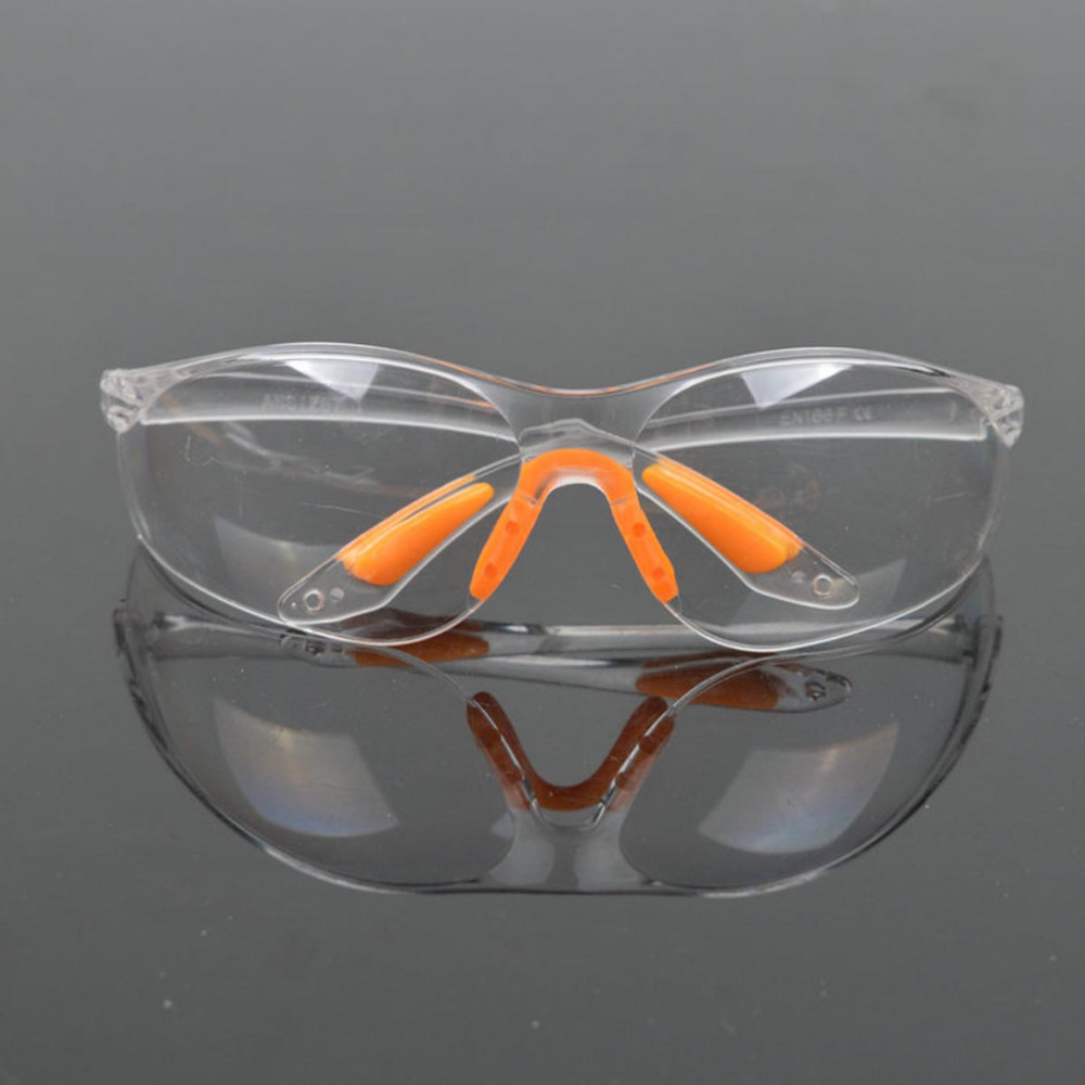 Safety Glasses Protective Outdoo Dust Wind Activity PC Motorcycle GogglesSplash Proof Lab Soft And  Flexibility Safety Goggles
