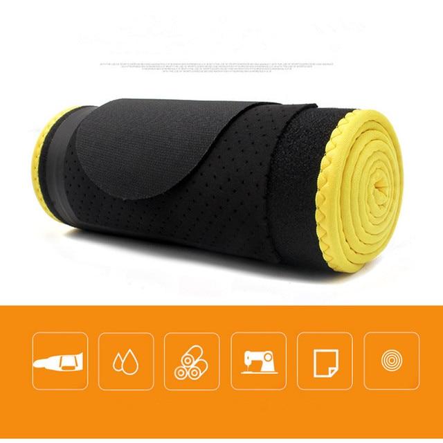TJ-Tianjun  New Workout Sweat Belt For Waist Protection yoga Embossing Belt For Fltness Shaping Belt YX8708 3