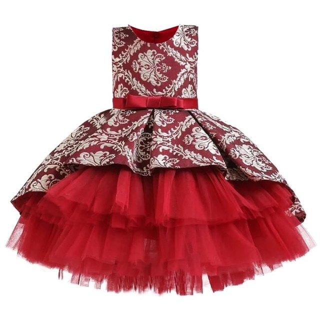 Flower  Vintage Embroidery Dress 3