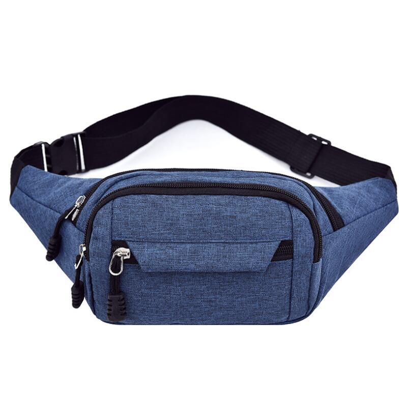 Waist Bag Women`s Belt Bag Fashion Oxford Cloth Sports Bag Travel Men Fanny Pack Hip Bag FLadies Belly Pouch For Phone Coins