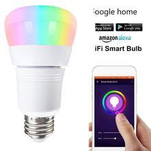 Wifi-Bulb Smart-Light Mobile-Phone-Control Smart-Home-Automation-Lamp Alexa Google Home