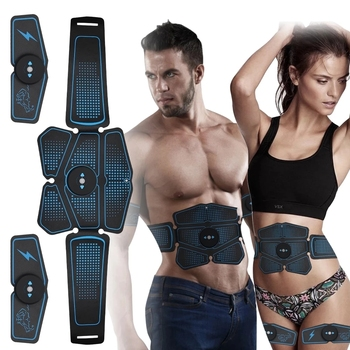 Abdominal Muscle Stimulator Trainer EMS Abs Weight Loss Fitness Equipment Training Electrostimulator Toner Exercise Sport Kit 1